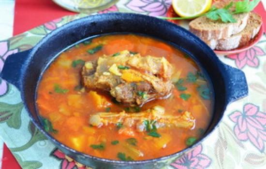 Йеменский суп с бычьими хвостами и рецепт приправы hawaig