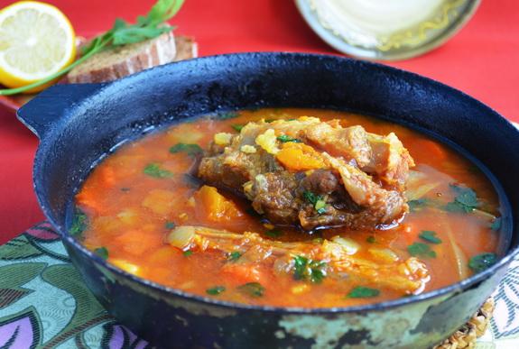 суп с бычьими хвостами