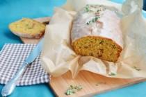 Морковный кекс с пряностями и тимьяном
