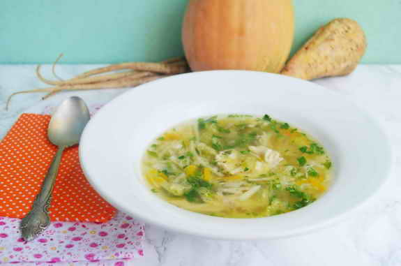 суп с корнеплодами