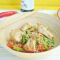 стир-фрай из зимних овощей с курицей
