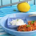 греческие томатные оладьи
