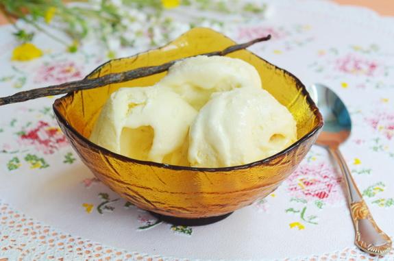 сливочно-ванильное мороженное