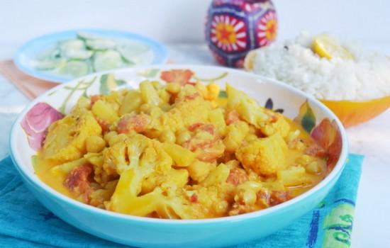 Овощное карри из Кералы