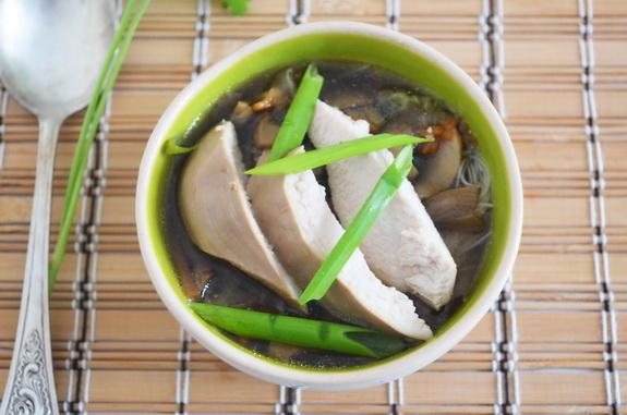 азиатский грибной суп