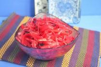 Салат из капусты, свеклы и моркови