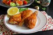 Куриные голени в хариссе