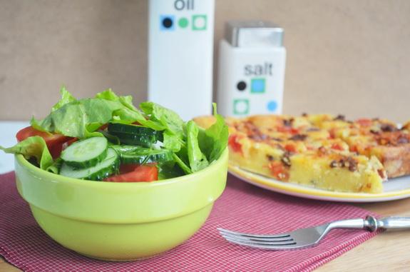 французский домашний салат
