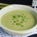 суп-пюре со спаржей