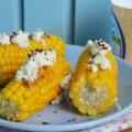 кукуруза со сливочным сыром и перцем чили