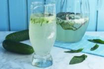 Огуречно-мятный лимонад с фенхелем