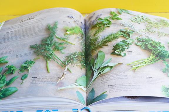 разворот травы