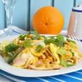 салат апельсиновый с курицей и фенхелем