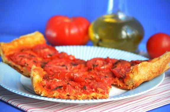 помидорный тарт