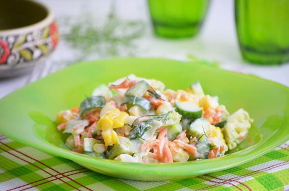 Салат с свежим сельдереем