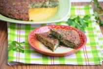 Кюкю сабзи или kookoo sabzi – персидский омлет с зеленью