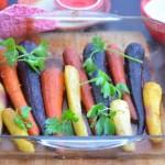 запеченная морковь в простой глазури
