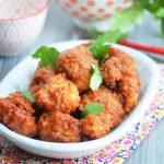 цветная капуста в томатном соусе по-азиатски